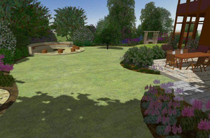 Józefów ogród rodzinny