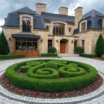Ogród francuski – Konstancin