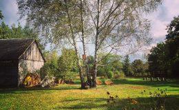 Ogród wiejski Chata Wandy Brzeźce (10)