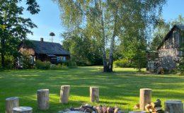 Ogród wiejski Chata Wandy Brzeźce (2)