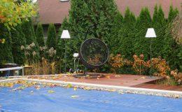 Ogród z basenem Konstancin (5)