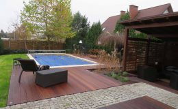 Ogród z basenem Konstancin (6)